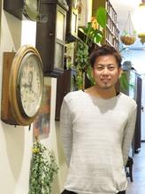 美容院クロックのスタッフ上田
